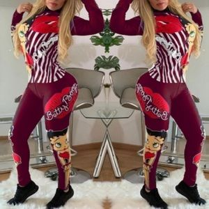 Pants - Betty Boop  Track Suit